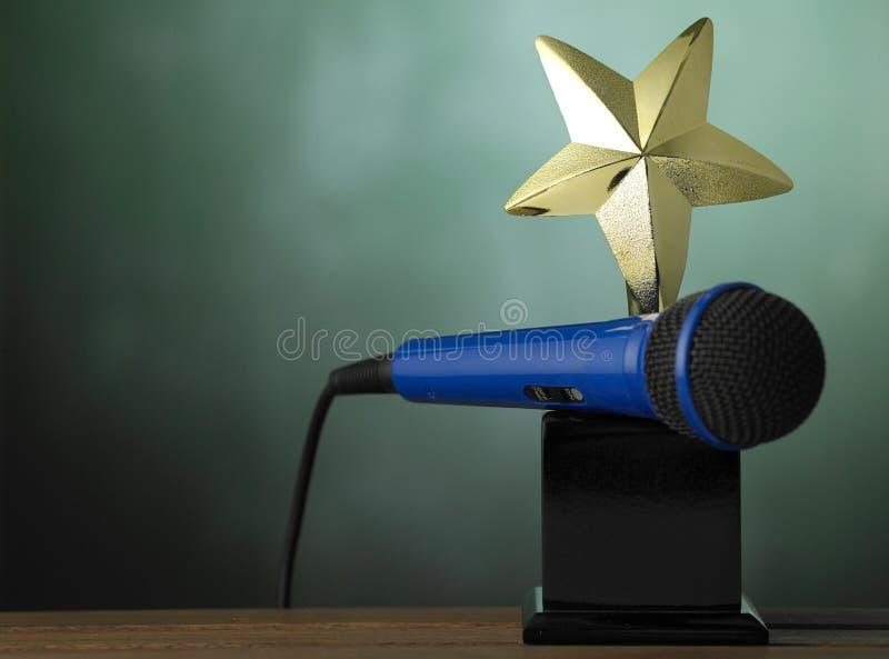 Trofeo fotografie stock