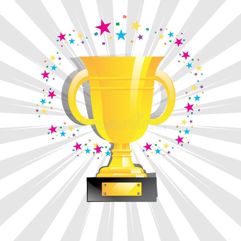 Trofeo illustrazione di stock
