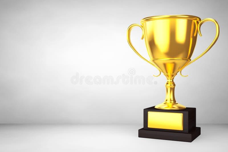 Trofeo de la taza del oro del campeón libre illustration