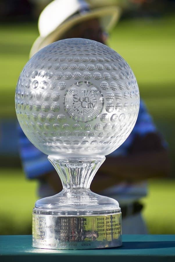 Trofeo Del Desafío Del Golf De Nedbank - NGC2010 Foto de archivo editorial