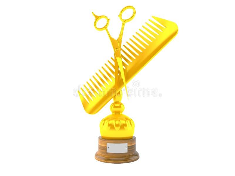 Trofeo del peluquero libre illustration