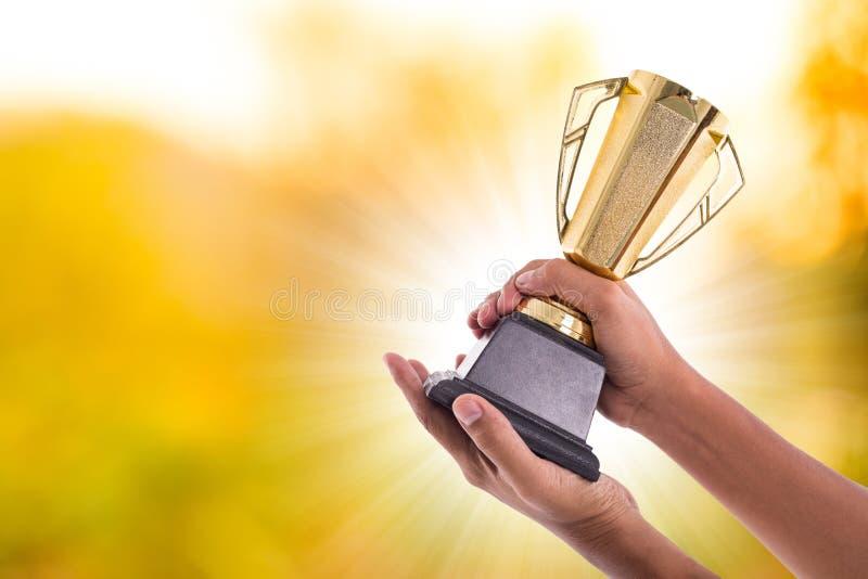 Trofeo del premio foto de archivo libre de regalías