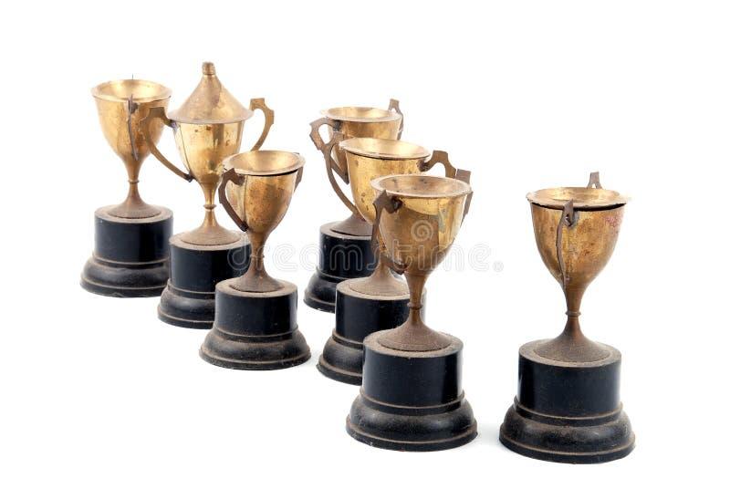 Trofeo dell'annata fotografie stock