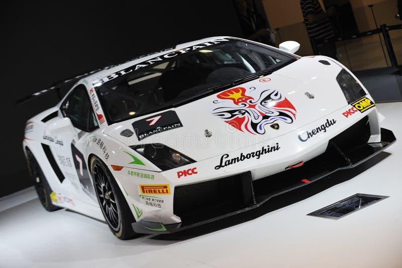 Trofeo estupendo del gallardo de Lamborghini foto de archivo libre de regalías