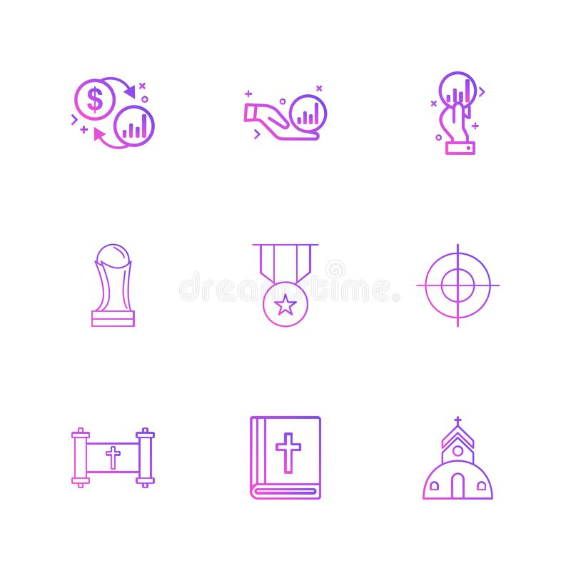trofeo, medaglia, fuoco, bibbia, chiesa, religione, moneta, bambola royalty illustrazione gratis