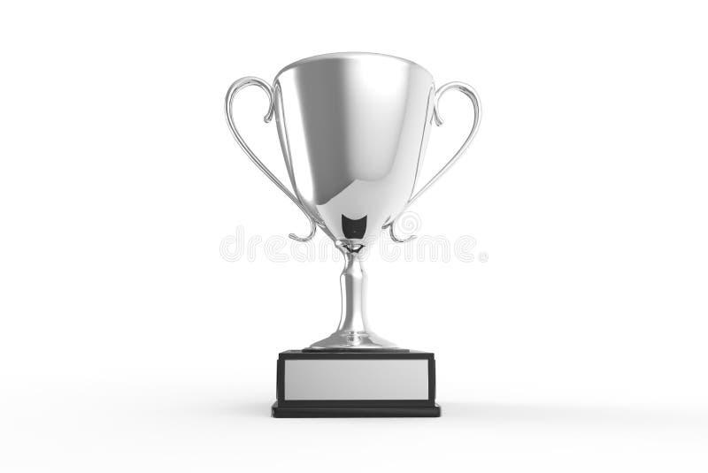 Trofeo para los ganadores ilustración del vector