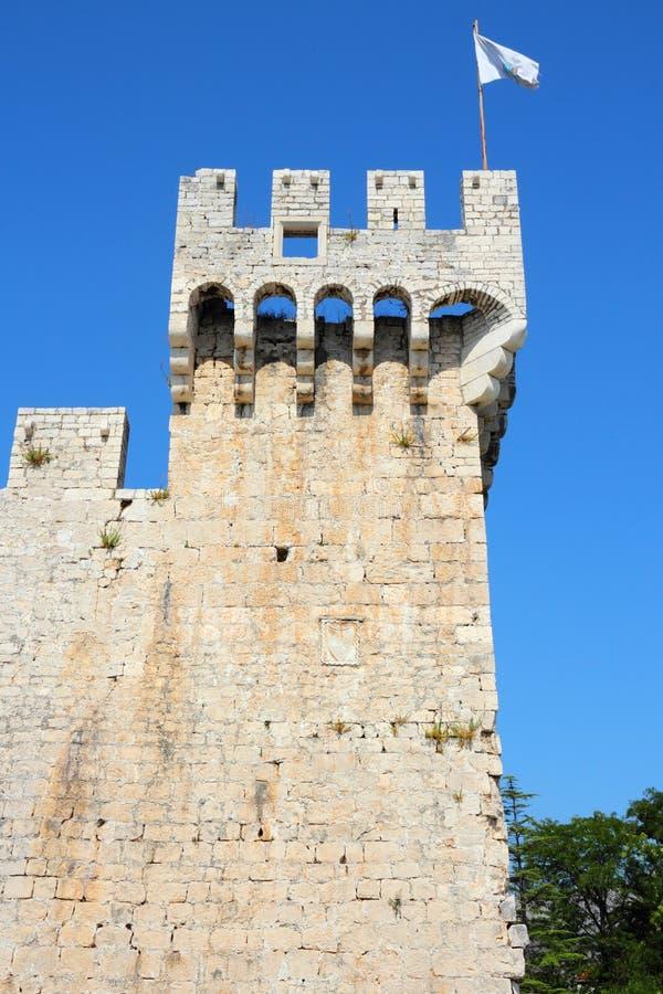 Trogir城堡 免版税库存图片
