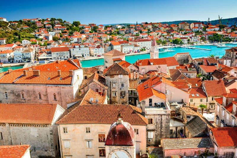 Trogir, Далмация, Хорватия стоковая фотография