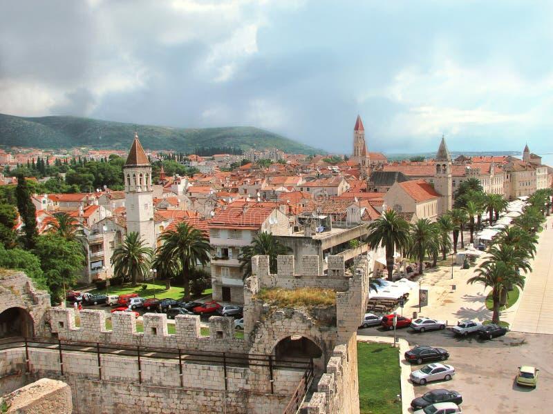 Trogir, Хорватия стоковые фото