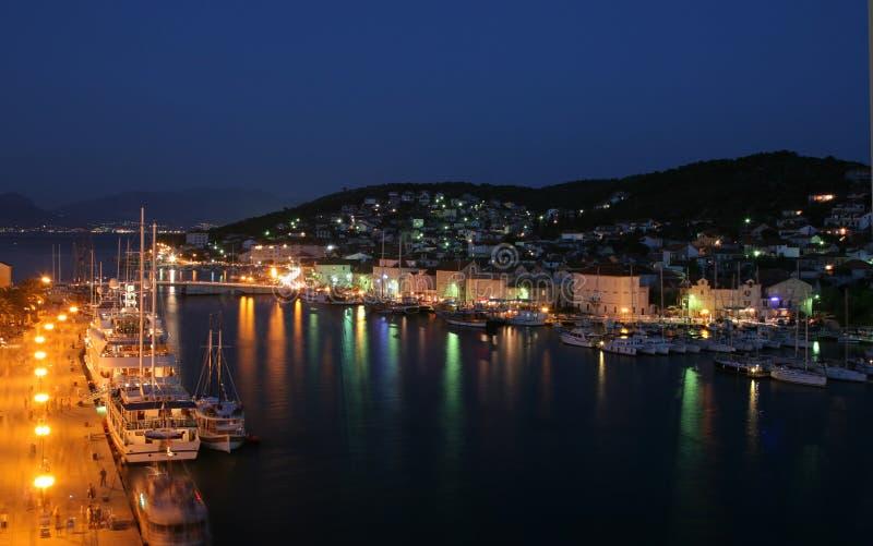 Download Trogir immagine stock. Immagine di scena, litorale, luci - 3129849