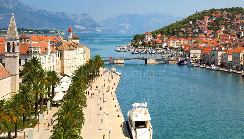 Trogir, Croatia foto de stock