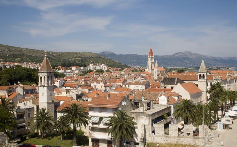 Trogir - Croatia - monumento de la UNESCO foto de archivo libre de regalías