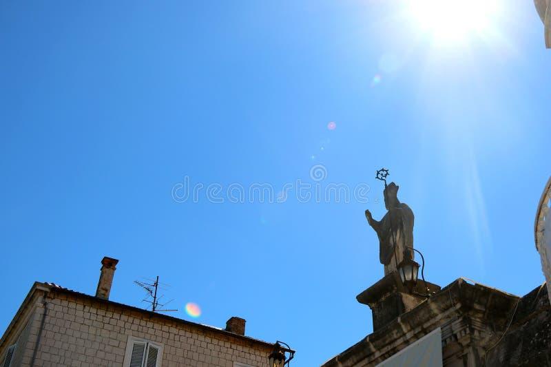 Trogir, Kroatien stockfoto