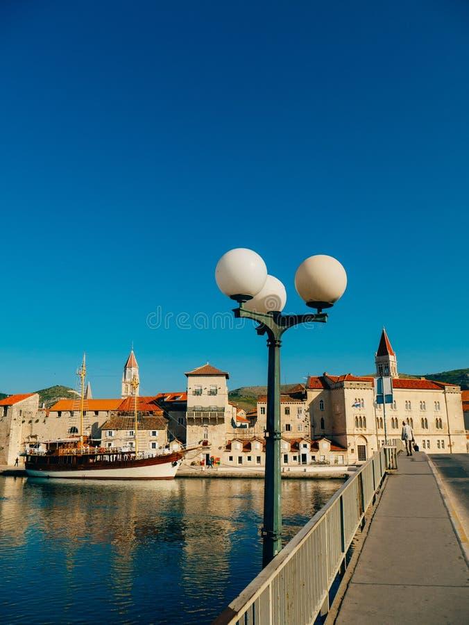 Trogir old town. Near Split stock images