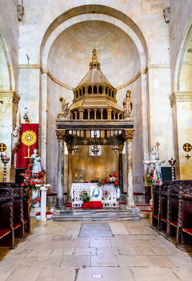 Trogir, Split, Dalmatia region of Croatia stock photos
