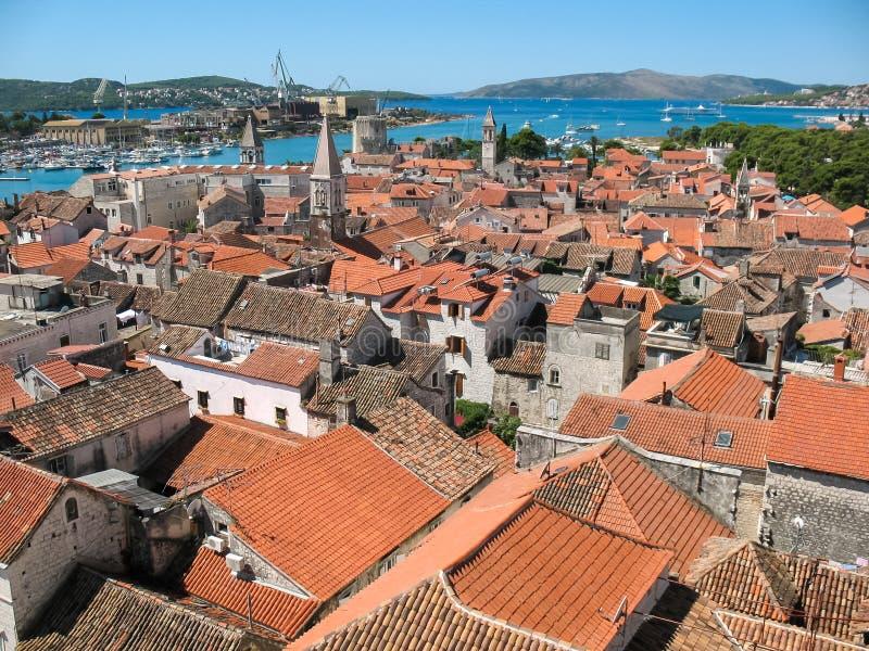 Download Trogir (Trau), Croatia stock image. Image of roof, city - 32810545