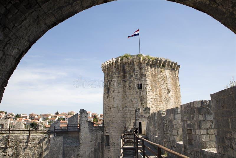 trogirl башни fortness стоковое фото rf
