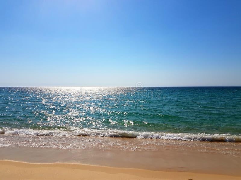 Troia plaża obraz royalty free
