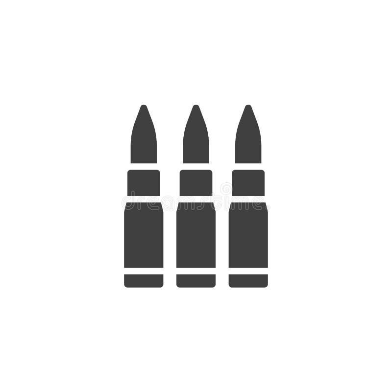 Trois balles dirigent l'icône illustration stock