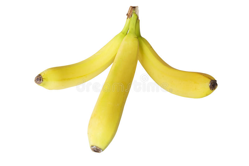 Trois bananes images stock