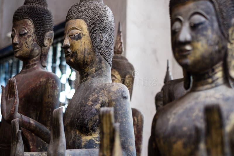 Trois Buddhas photos stock
