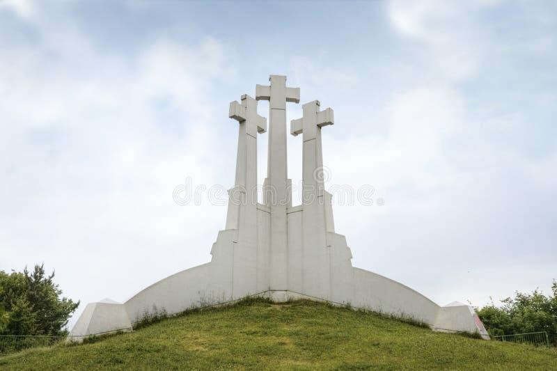 Trois croix photos libres de droits