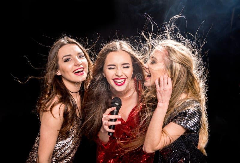 Trois femmes magnifiques image libre de droits