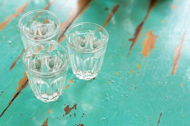 Trois glaces de l'eau image libre de droits