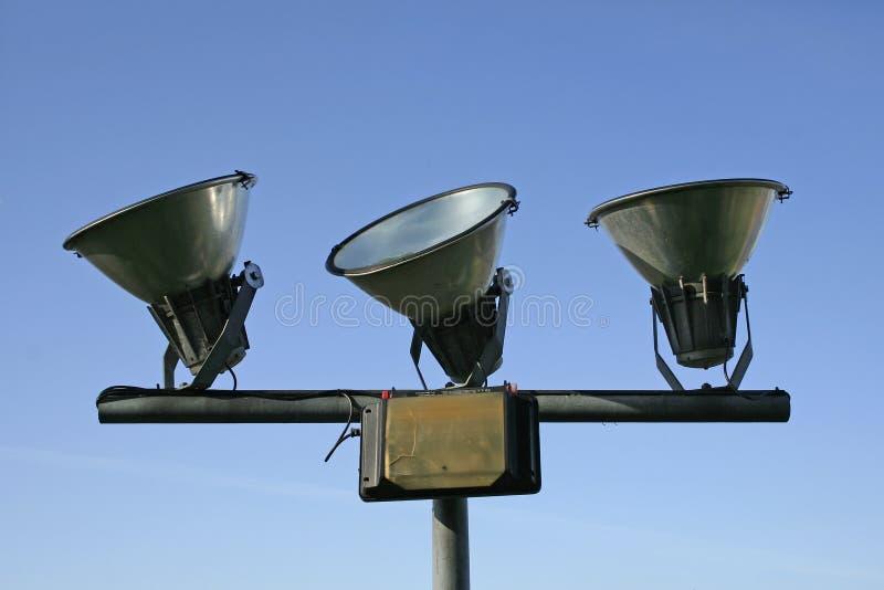 Trois lampes photos libres de droits