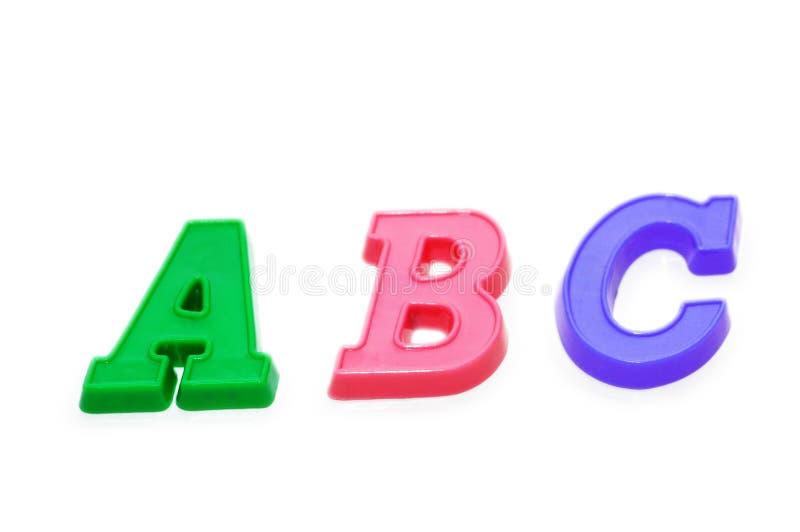 Trois lettres images stock