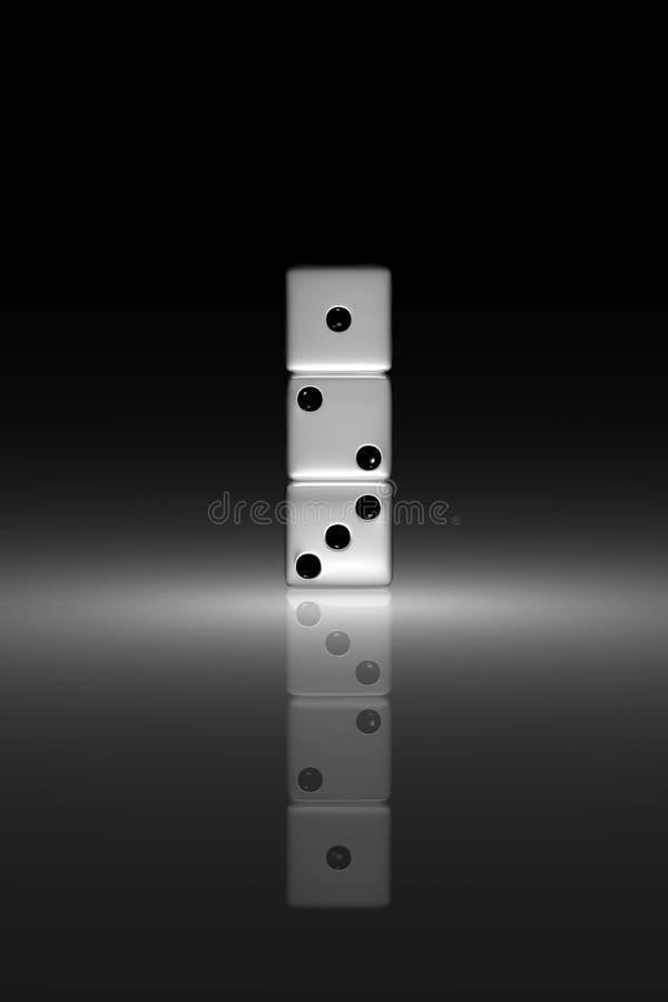 Trois matrices illustration de vecteur