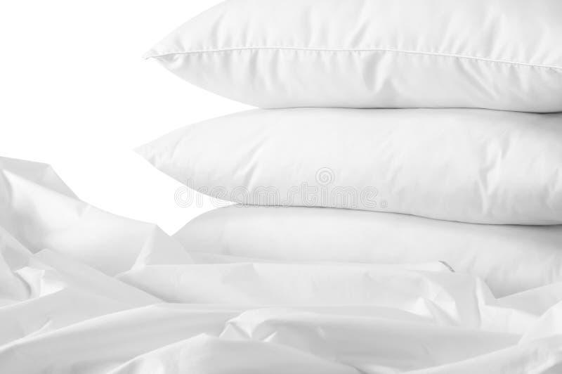 Trois oreillers. photo libre de droits