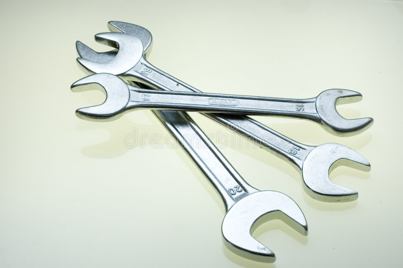 Trois outils images stock