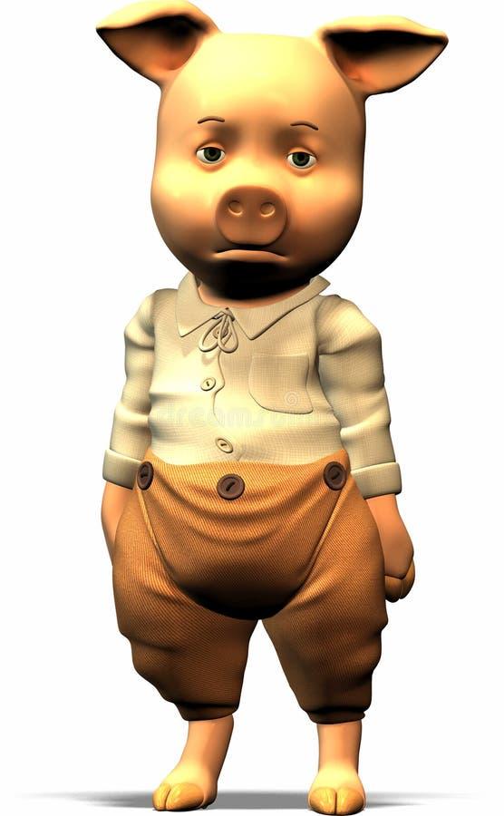 Trois petits porcs - partie image libre de droits