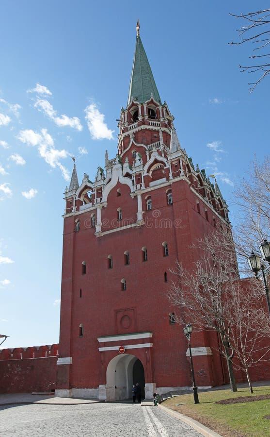 Download Troitskayatoren Moskou Het Kremlin Redactionele Stock Foto - Afbeelding bestaande uit vesting, rusland: 39115488