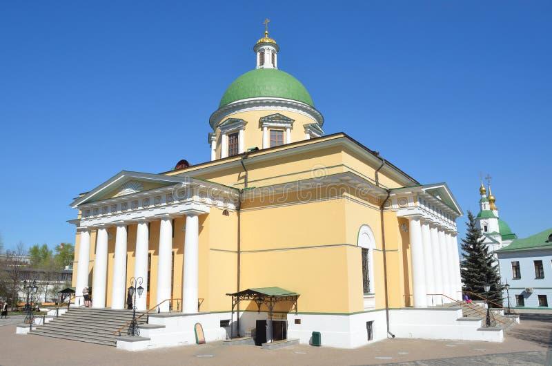 Troitsky Cathedral in Svyato-Danilov monastery in Moscow stock image