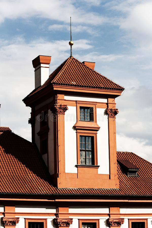 Troja chateau royalty free stock images