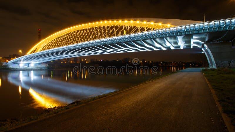 Trojan Brücke lizenzfreie stockfotografie