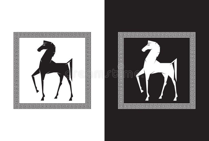 Trojan Horse illustration libre de droits