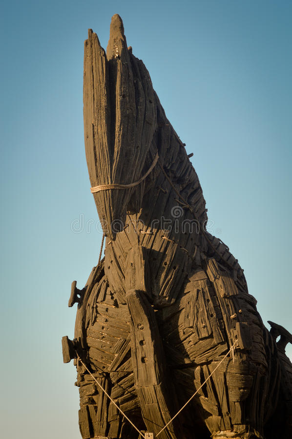 Trojan Horse image libre de droits