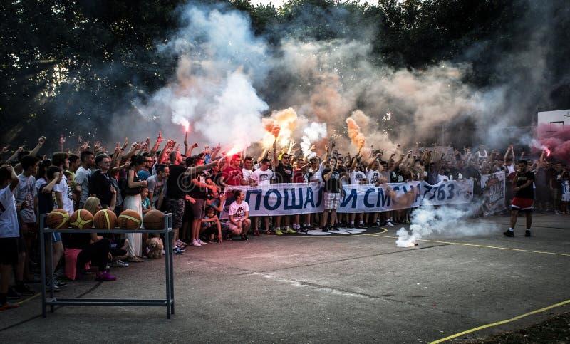 Download Trojka Iz Bloka, Charity Organisation Editorial Photography - Image of basketball, people: 73812882