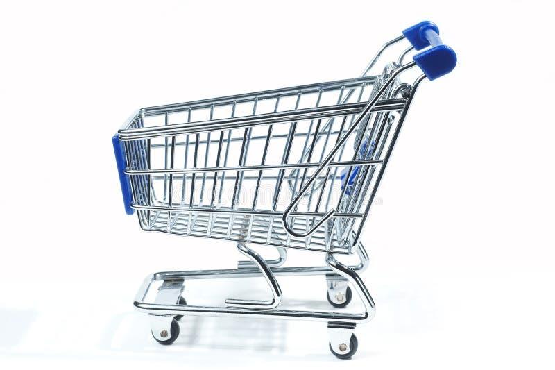 Trole de compra isolado foto de stock royalty free