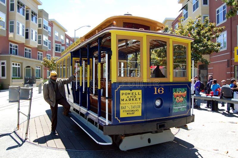 Trole de San Francisco fotos de stock royalty free