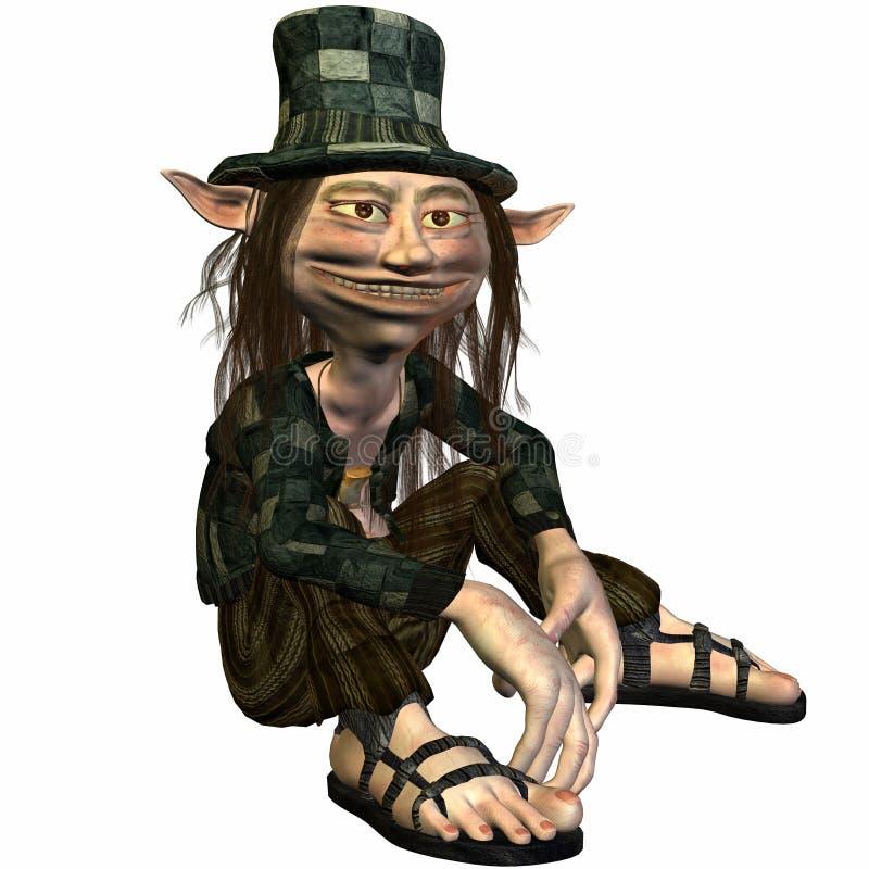 troll του Tommy απεικόνιση αποθεμάτων