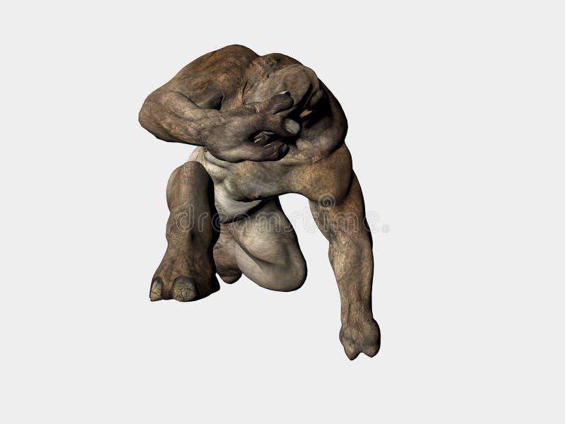 troll изверга бесплатная иллюстрация