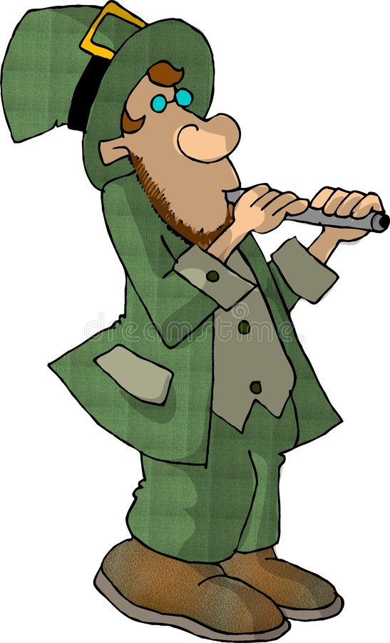 Download Troll 2 stock illustrationer. Illustration av clover, ferie - 38040