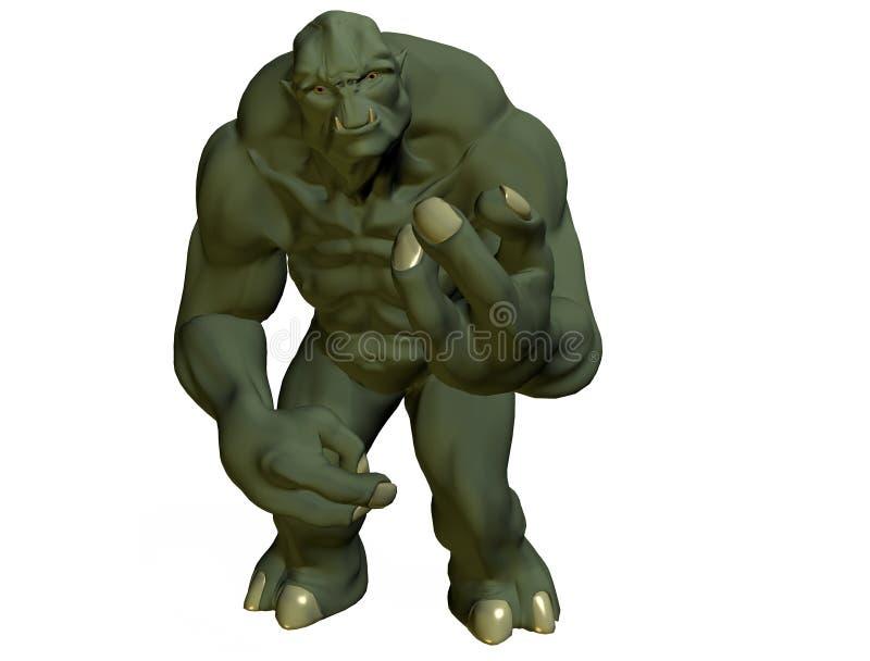 troll иллюстрация вектора