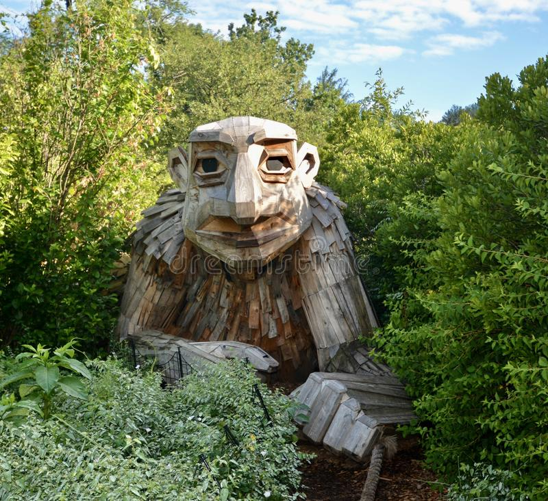 Troll #1 photographie stock