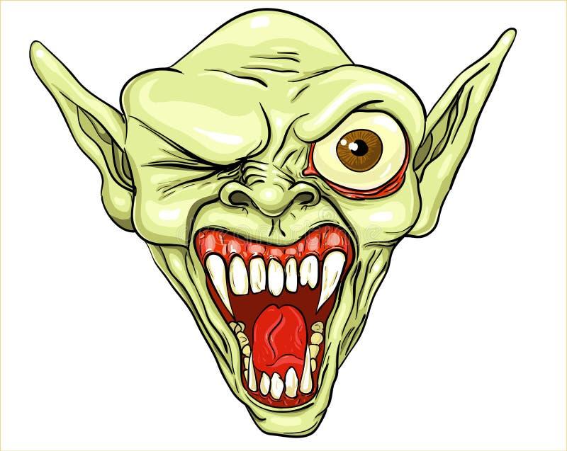 Troll d'érysipèle illustration stock