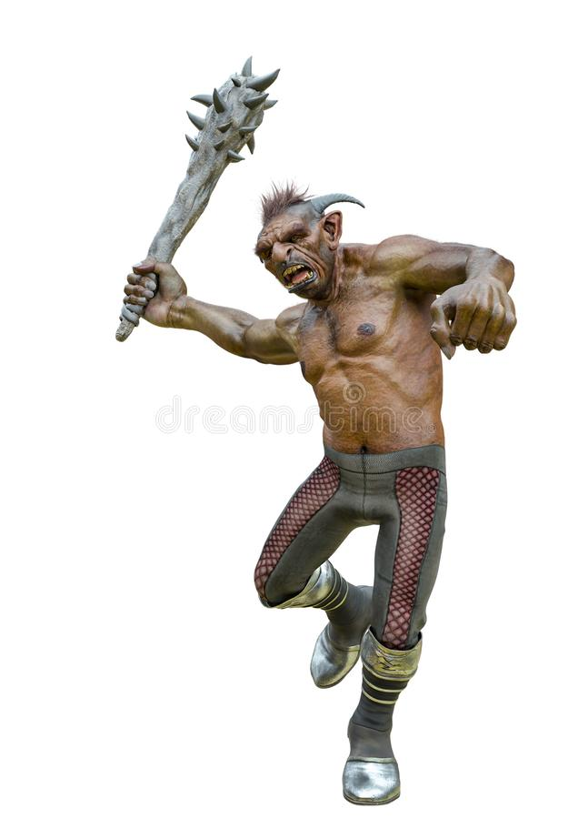 Free Troll Frontal Attack Stock Image - 161400621